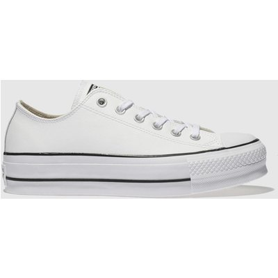 Converse White Cons Ct Lift Ox Trainers