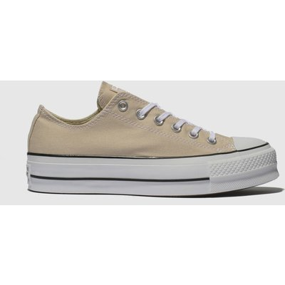 Converse Pale Pink Chuck Taylor All Star Lift Ox Trainers
