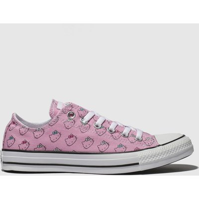 Converse Pink All Star Hello Kitty Ox Trainers