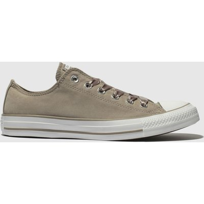 Converse Grey All Star Ox Satin Laces Trainers