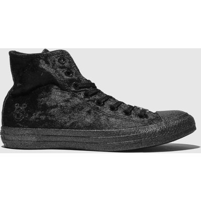 Converse Black All Star Hi X Miley Cyrus Trainers
