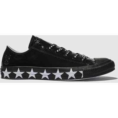 Converse Black & White All Star Ox X Miley Cyrus Trainers