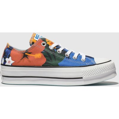 Converse Multi All Star Lift Ox Trainers
