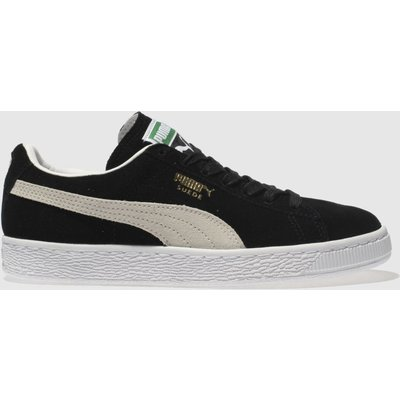 Puma Suede Classic   Trainers   Black Team Gold White   UK 5 - 4051409213306