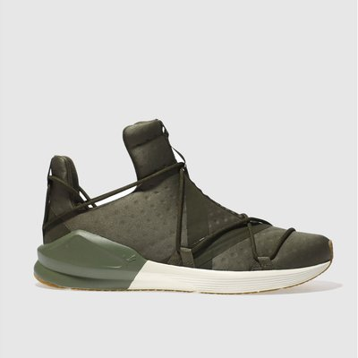 puma khaki fierce rope vr trainers - 4057828164380