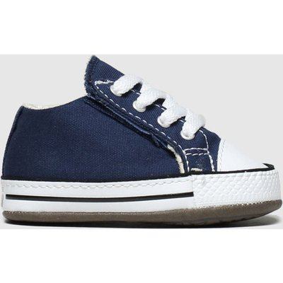 Converse Navy All Star Cribster Shoes Baby