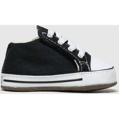 Converse Black & White All Star Cribster Shoes Baby