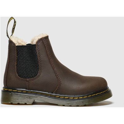 Dr Martens Dark Brown 2976 Leonore Boots Toddler