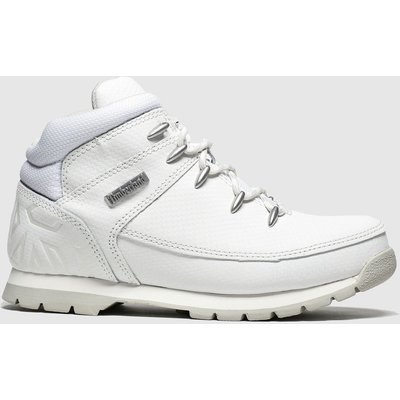 Timberland White Euro Sprint Boots Junior