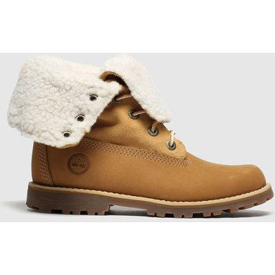 Timberland Tan Authentic 6 Inch Boots Junior