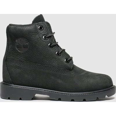 Timberland Black 1973 Newman Boots Junior