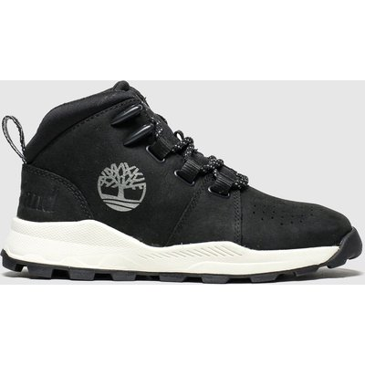 Timberland Black Brooklyn City Mid Boots Junior