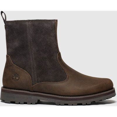 Timberland Dark Brown Courma Boots Junior