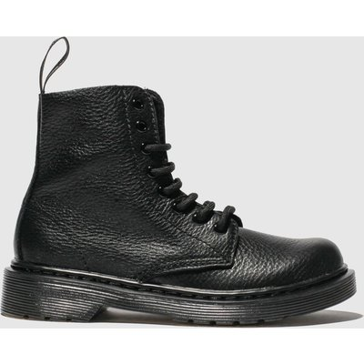 Dr Martens Black 1460 Pascal Mono Boots Junior