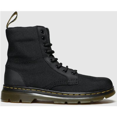 Dr Martens Black Combs Boots Junior