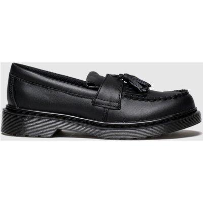 Dr Martens Black Adrian Shoes Junior