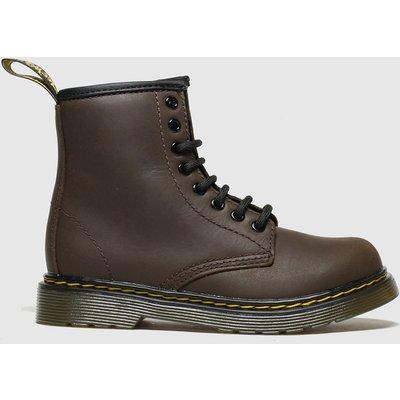Dr Martens Dark Brown 1460 Serena Boots Junior
