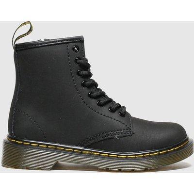 Dr Martens Black 1460 Serena Boots Junior