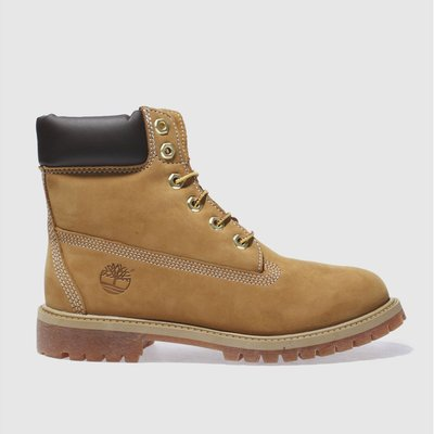 Timberland Natural 6 Inch Premium Boots Youth