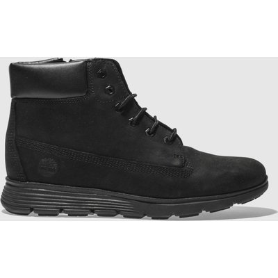 Timberland Black Killington 6 Inch Boots Youth