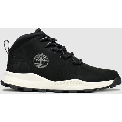 Timberland Black Brooklyn City Mid Boots Youth