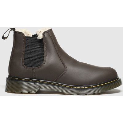 Dr Martens Dark Brown 2976 Leonore Boots Youth