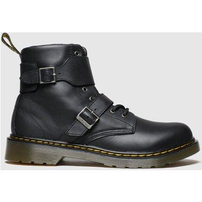 Dr Martens Black Joska Boots Youth