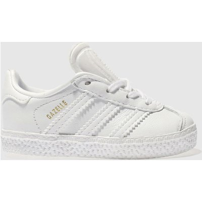 adidas white gazelle unisex toddler - 4057291000765