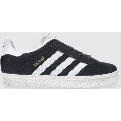 adidas black   white gazelle unisex toddler - 5054457706249
