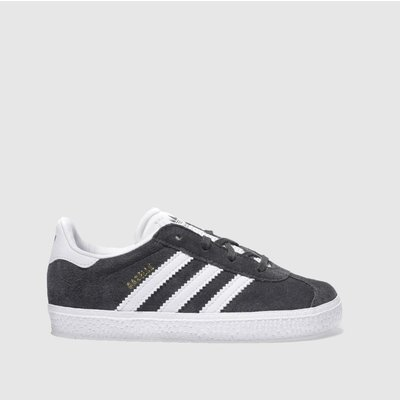 adidas dark grey gazelle unisex toddler - 5054457706324