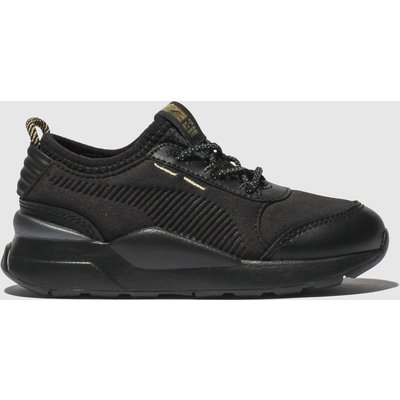Puma Black & Gold Rs-0 Trophy Trainers Toddler