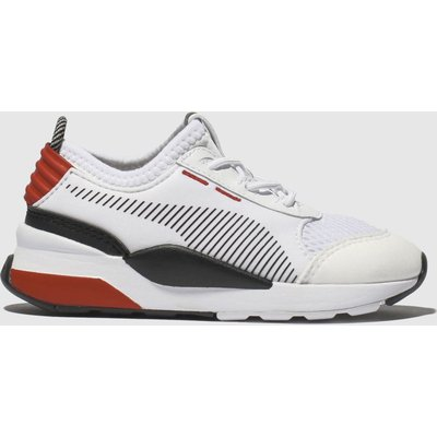 Puma White & Red Rs-0 Winter Inj Toys Trainers Toddler