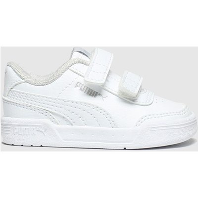 Puma White Caracal Trainers Toddler