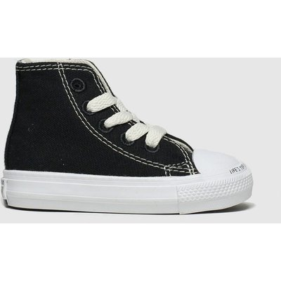 Converse Black & White Chuck Taylor All Star Renew Hi Trainers Toddler