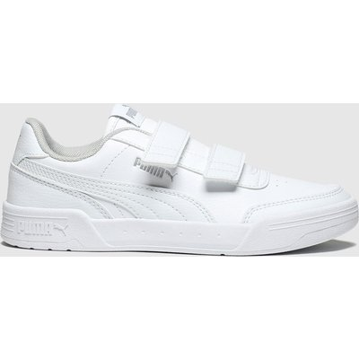 Puma White Caracal Trainers Junior