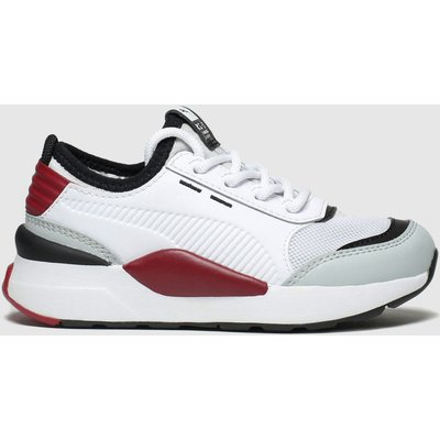 Puma White & Red Rs-0 Smart Trainers Junior