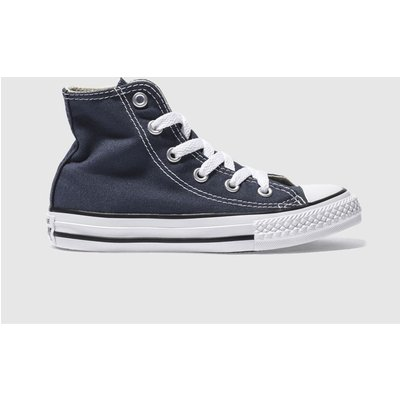 Converse Navy All Star Hi Trainers Junior