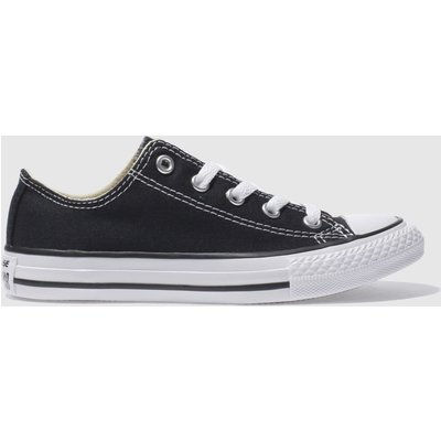 Converse Black All Star Lo Trainers Junior