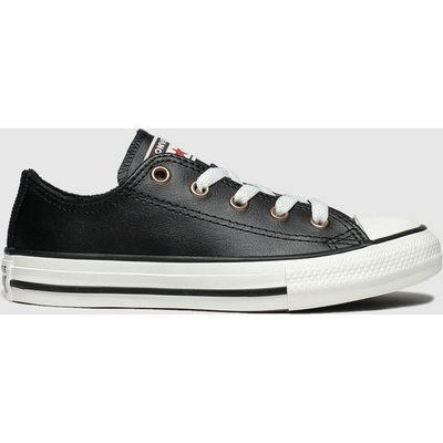 Converse Black All Star Lo Mission Warmth Trainers Junior