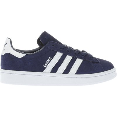 adidas navy   white campus unisex junior - 4058025039204