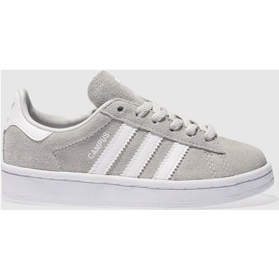adidas light grey campus unisex junior - 4058025030485
