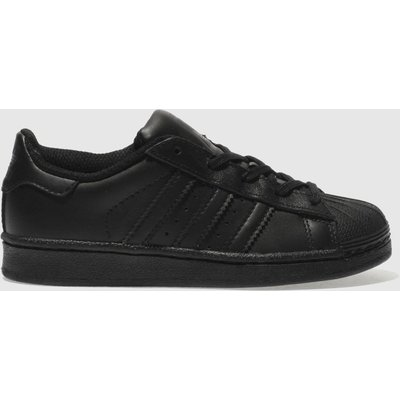 Adidas Black Superstar Foundation Unisex Junior - 5054457549891