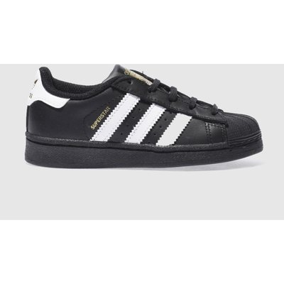 adidas black   white superstar unisex junior - 5054457549747