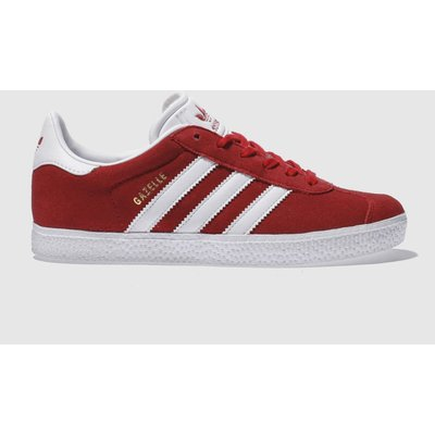 adidas red gazelle unisex youth - 4058025173762