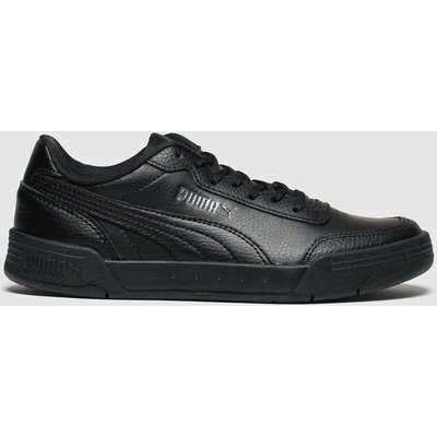 Puma Black Caracal Trainers Youth