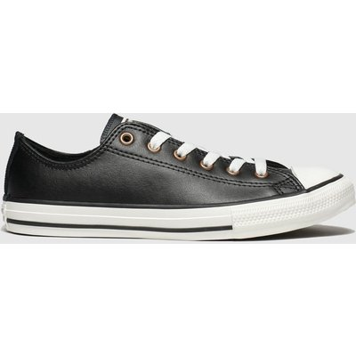 Converse Black All Star Lo Mission Warmth Trainers Youth