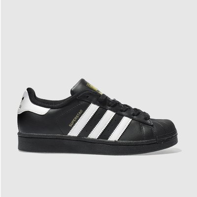 adidas black   white superstar unisex youth - 4054714561018
