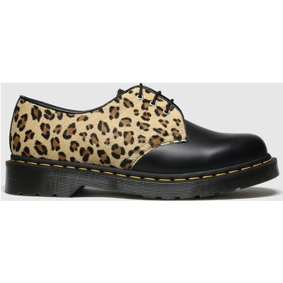 Dr Martens Black & Brown 1461 Shoe Shoes