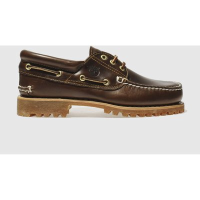 Timberland Brown Classic 3 Eye Boat Shoes