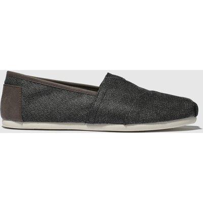 Toms Grey Alpargata Trim Shoes